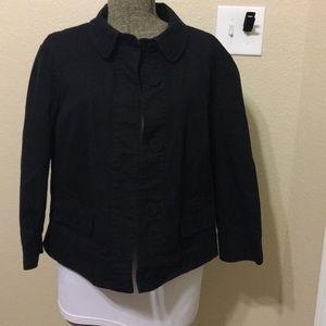 Talbots black blazer